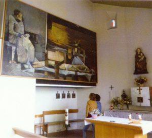 Innenraum der Marienkapelle von Alsack
