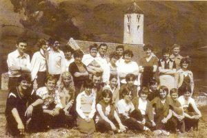 Chor in Mals - Gründungsmitglieder 1979