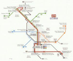 Citybus - Strecken in Mals