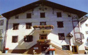 Fussgängerzone - das ehemalige Gasthaus Einhorn