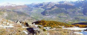 Panoramablick über die Gemeinde Mals und das Vintschger Oberland