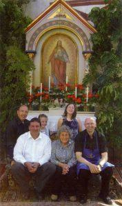 Herz-Jesu-Altar-Team 2008
