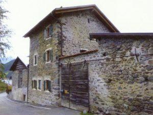 Mittelalterlicher Wohnturm in Laatsch