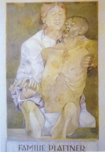 Fresko von Karl Plattner
