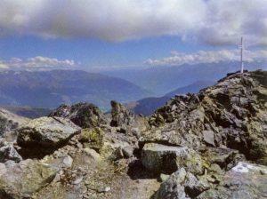 Gipfelkreuz des Piz Sesvenna