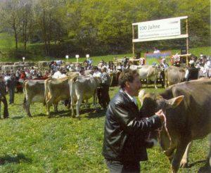 Sonntag, 3.Mai 2009: 100-Jahr-Feier der Braunviehzuchtgenossenschaft Burgeis